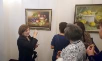 MUSTAFA NECATİ - İnci Avcı Aldemir'in Resim Sergisi Ankara'da Açıldı