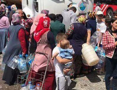 İzmir'deki su kesintisi sosyal medyanın dilinde