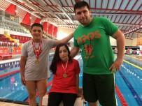 Karamanlı Bedensel Engelli Yüzücüler Şampiyonaya Madalyalarla Başladı