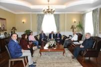 Kent Konseyi'nden Vali Azizoğlu'na Ziyaret