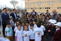 EROZYON - Köy Okulu Bahçesine Fidan Dikimi