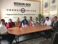 TOPLU SÖZLEŞME - Memur-Sen Engelliler Komisyonundan Uçak'a Toplu Sözleşme Talebi Ziyareti