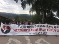 SAKARYA NEHRI - Osmaneli'de Gençlik Yürüyüşü