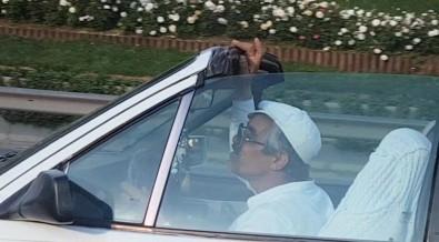 TEM'de bir garip sürücü