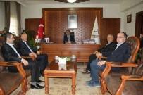 PÜİS Şube Başkanı Ertaş'tan Vali Aktaş'a Ziyaret