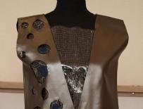 GAZIANTEP ÜNIVERSITESI - Saman ve çiçeklerden kıyafet