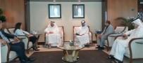 KATAR EMIRI - SANKON Başkanı Atasoy, Katar'da Temaslarda Bulundu