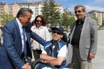 ENGELLİ GENÇ - Seydişehir'de Doğuştan Engelli Çocuk Geçici Fahri Zabıta Oldu