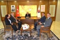 SGK'dan Başkan Vergili'ye Ziyaret