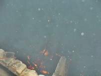 Sinop'ta Ahşap Ev Yangında Kül Oldu
