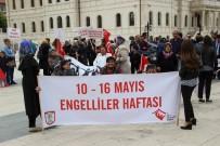 Sivas'ta Engellilerden Farkındalık Yürüyüşü