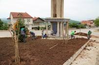 KıLıÇARSLAN - Yeni Saat Kulesine Çevre Düzenlemesi Yapıldı