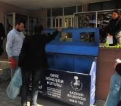 AKŞEHİR BELEDİYESİ - Akşehir Belediyesi'nden Okullara Üçlü Geri Dönüşüm Kutuları