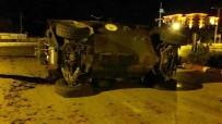 AKREP - Askeri Araç İle Otomobil Çarpıştı Açıklaması 7'Si Asker 9 Yaralı