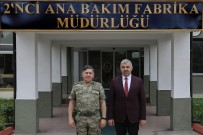 BAKIM MERKEZİ - Başkan Çelik, 2. Ana Bakım Merkezi Komutanlığı'nı Ziyaret Etti
