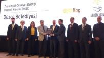 KADIN ŞOFÖR - Başkan Mehmet Keleş Kadın İstihdamı Ödülü Aldı