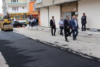 BELEDIYE İŞ - Başkan Saygılı'dan Asfalt Çalışmalarına İnceleme