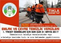 KREDI KARTı - Çevre Temizlik Vergisi Ödemesi İçin Son Gün 31 Mayıs