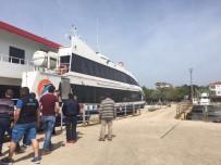 DENIZ OTOBÜSÜ - Ekinlik Adasında Deniz Otobüsü Seferleri Başlıyor
