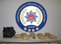 Elazığ'da 8 Kilo Toz Esrar Ele Geçirildi