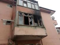 YEŞILDAĞ - Elektrik Kontağından Çıkan Yangın Mutfağı Küle Çevirdi