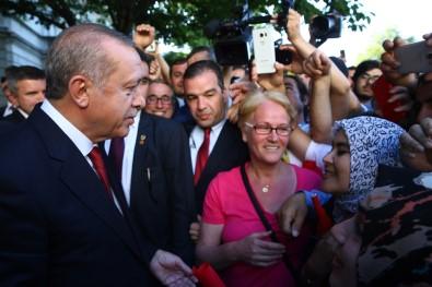 Erdoğan ABD'den ayrıldı