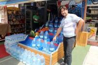 Esnaf su krizini fırsata çevirdi