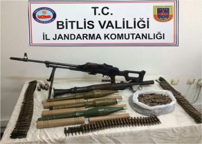 Güroymak'ta PKK'ya Ait Mühimmat Ele Geçirildi