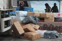 KIREÇBURNU - İstanbul'da 2 Milyon TL'lik Kaçak Sigara Ele Geçirildi
