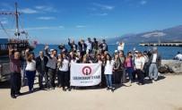 VATANDAŞLıK - İSTE'li Öğrencilerden Huzurevi Sakinlerine Tekne Turu Keyfi
