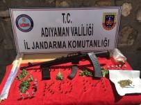 Jandarma Silah Ve Uyuşturucu Ele Geçirdi