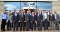 KOSOVA - Kosovalı İş Adamları ATO'yu Ziyaret Etti