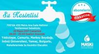 YıLDıZTEPE - Malatya'da 20 Mayıs'ta Su Kesintisi Yaşanacak