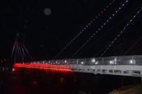 MANAVGAT IRMAĞI - Manavgat'ta Işık Ve Su Danslı Yaya Köprüsü
