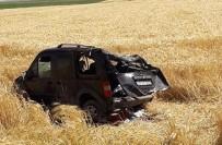 Mardin'de Trafik Kazası Açıklaması 5 Yaralı