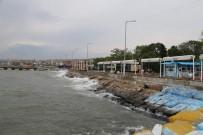 HOŞKÖY - Marmara Denizi'nde Ulaşıma Poyraz Engeli