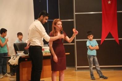 Mucit Abla Cizre'de Çocuklara Bilimi Sevdirdi