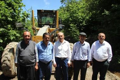 Muhtarlardan Büyükşehir Belediyesi'ne Yol Teşekkürü