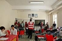 Öğrenciler Kan Bağışında Bulundu