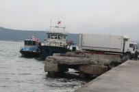 KIREÇBURNU - Sarıyer'de Tekneye Kaçak Sigara Operasyonu