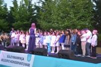 ÇOCUK KOROSU - Süleymanpaşa Belediyesi Konservatuarı Yıl Sonu Gösterisi