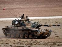 İŞ MAKİNASI - TSK'dan flaş Fırat Kalkanı açıklaması