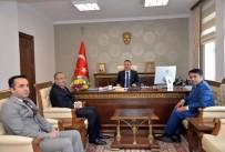 SÜLEYMAN ELBAN - Vali Elban'a Ziyaret