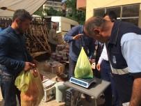 PAZARCI - Yığılca Belediyesi Zabıta Ekipleri Terazi Denetimi Yaptı