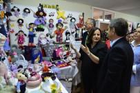 AHMET ATAÇ - Aşağısöğütönü Belde Evi Kursiyerleri El Emeği Ürünlerini Sergilediler