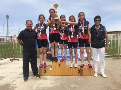 Atletizm Sporcuları Yozgat'a Dereceyle Döndü