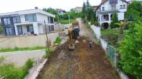 ÇAMLıCA - Başiskele'de Üst Yapı Çalışmaları Sürüyor