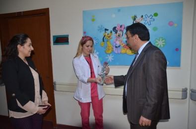 Başkan Toksoy'dan Hemşireler Haftası'nda Anlamlı Ziyaret