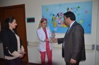 BELEDİYE MECLİS ÜYESİ - Başkan Toksoy'dan Hemşireler Haftası'nda Anlamlı Ziyaret