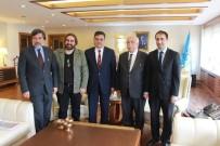 NABI AVCı - Başkan Yalçın, Kültür Ve Turizm Bakanı Avcı'yı Ziyaret Etti